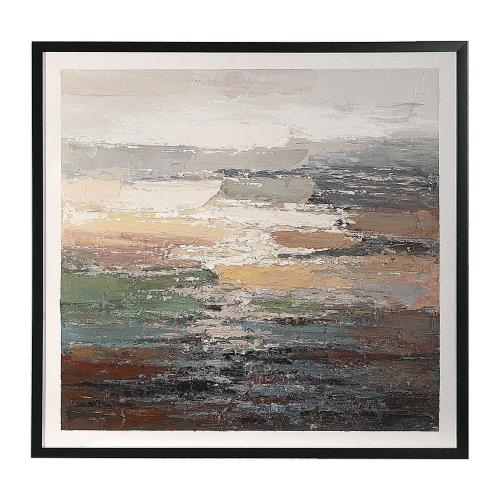 Uttermost 41918 Tides - 49 inch Abstract Art
