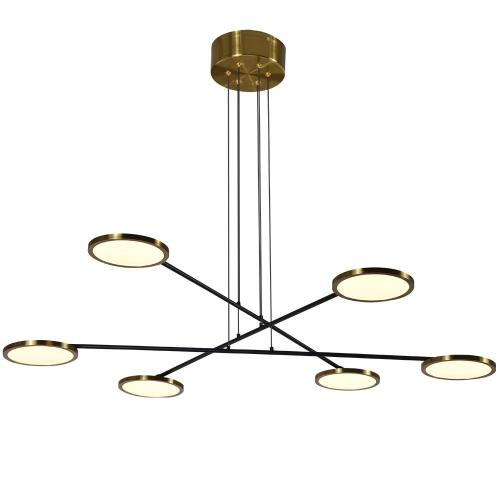VONN LIGHTING VAC3196AB Torino - 39.25 Inch 41.74W LED 3-Tier Chandelier