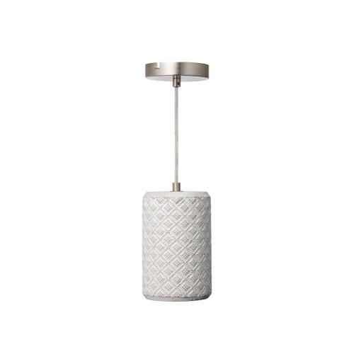 Varaluz Lighting 211M01A Pottery Perfect - One Light Diamond Weave Mini Pendant