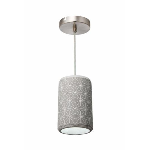 Varaluz Lighting 211M01B Pottery Perfect - One Light Geostar Mini Pendant