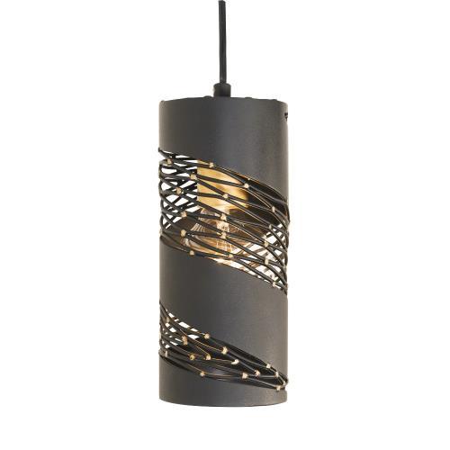 Varaluz Lighting 240M01MBFG Flow - 1 Light Cylinder Mini Pendant