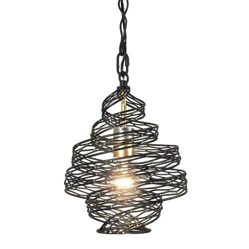 Varaluz Lighting 240P01MBFG Flow - 1 Light Twist Mini Pendant