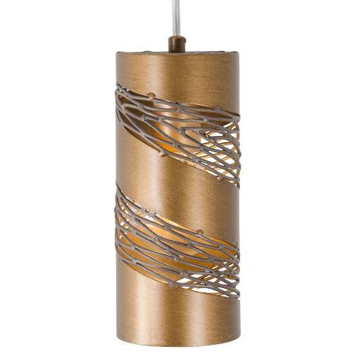 Varaluz Lighting 240M01SL Flow Cylinder - One Light Mini-Pendant