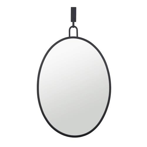 Varaluz Lighting 4DMI0110 Stopwatch - 22x30 Oval Powder Room Mirror