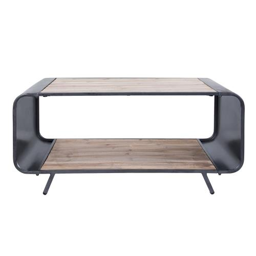 Varaluz Lighting 4FEN0101 Atomic Coffee Table/TV Stand