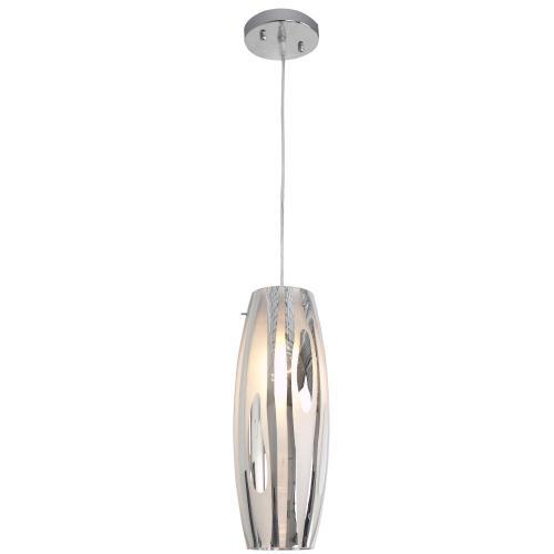 Varaluz Lighting AC1070 Chroman Empire - One Light Mini Pendant
