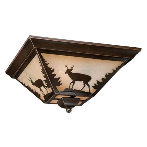 Vaxcel CC55414BBZ Bryce - Three Light Ceiling Fan Kit