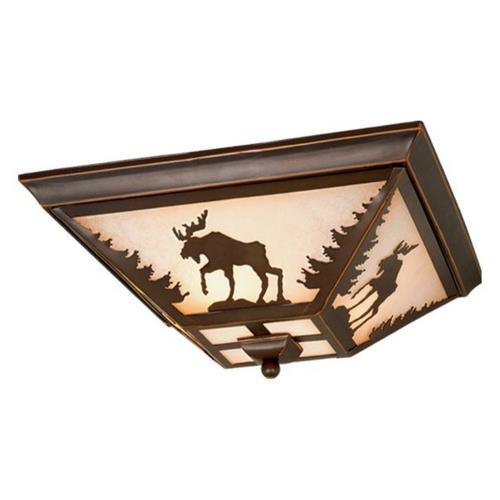 Vaxcel CC55614BBZ Yellowstone - Three Ceiling Fan Light Kit
