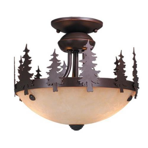 Vaxcel LK55512BBZ-C Yosemite - Two Ceiling Fan Light Kit
