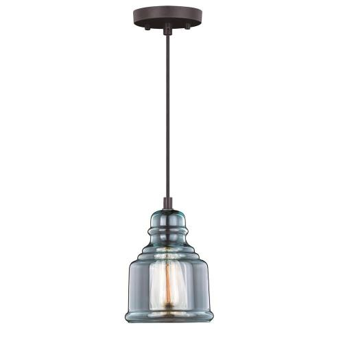 Vaxcel P0248 Mille - 8.25 Inch One Light Mini Pendant