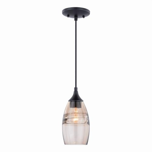 Vaxcel P027-4 Milano - 4.75 Inch One Light Mini Pendant