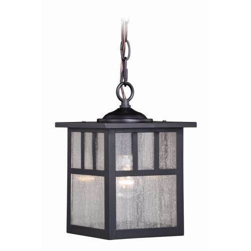 Vaxcel T0439 Mission - 7.25 Inch One Light Outdoor Pendant