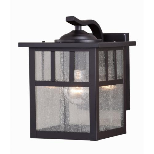Vaxcel T0443 Mission - 7.25 Inch One Light Outdoor Wall Mount