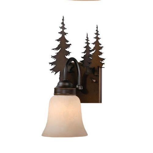 Vaxcel VL55501BBZ Yosemite - One Light Bath Bar