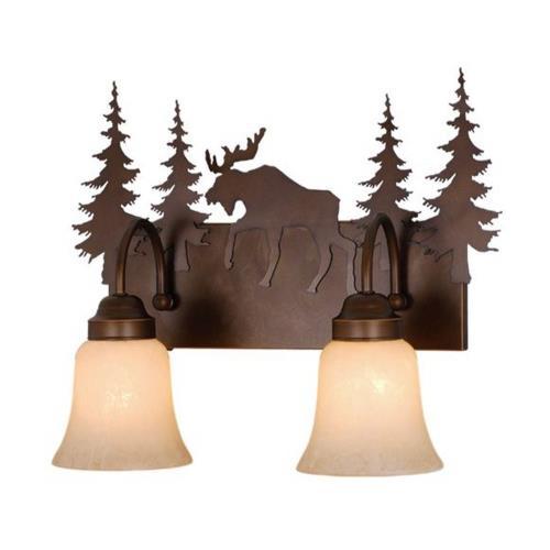 Vaxcel VL55602BBZ Yellowstone - Two Light Bath Bar