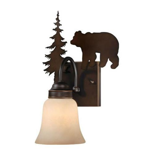 Vaxcel VL55701BBZ Bozeman - One Light Wall Sconce