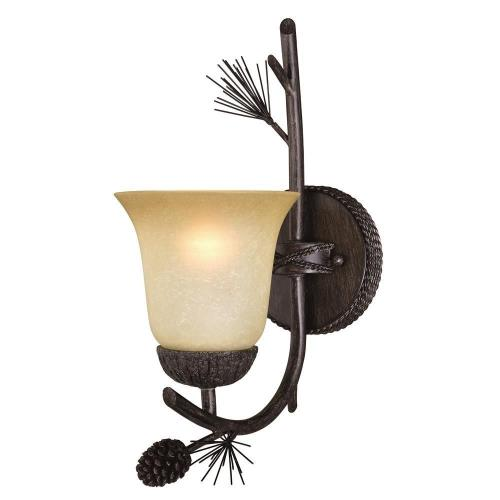 Vaxcel W0267 Sierra - One Light Bath Vanity