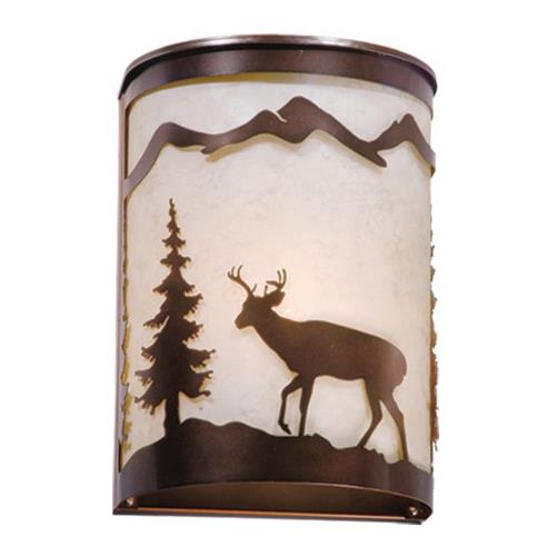 Vaxcel WS55408BBZ Bryce - One Light Wall Sconce