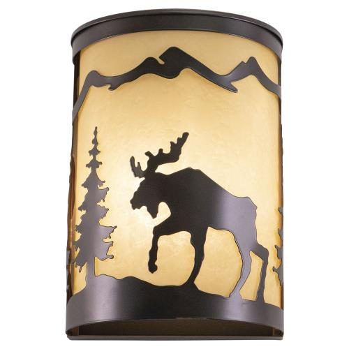 Vaxcel WS55608BBZ Yellowstone - One Light Wall Sconce