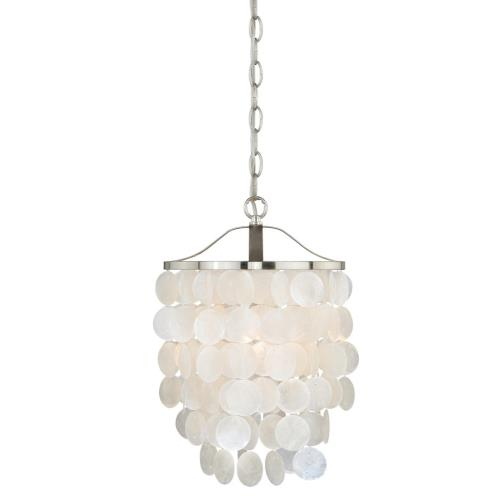Vaxcel P0138 Elsa-One Light Mini Pendant-10.5 Inches Wide by 18 Inches High