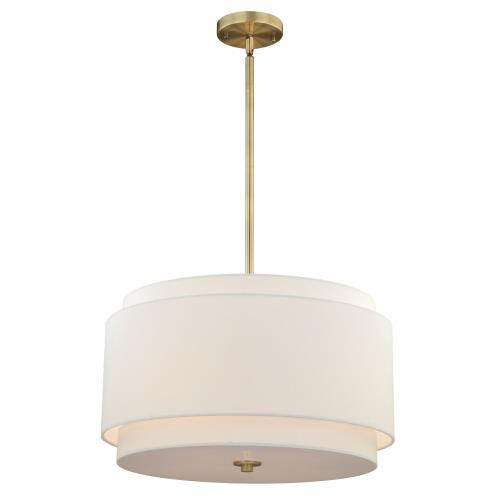 Vaxcel P0192 Burnaby-Four Light Pendant-20.5 Inches Wide by 15.75 Inches High