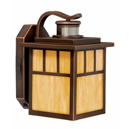 Vaxcel T0129 Mission - One Light Outdoor Wall Lantern