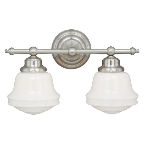 Vaxcel W01-2 Huntley - 2 Light Bath Vanity