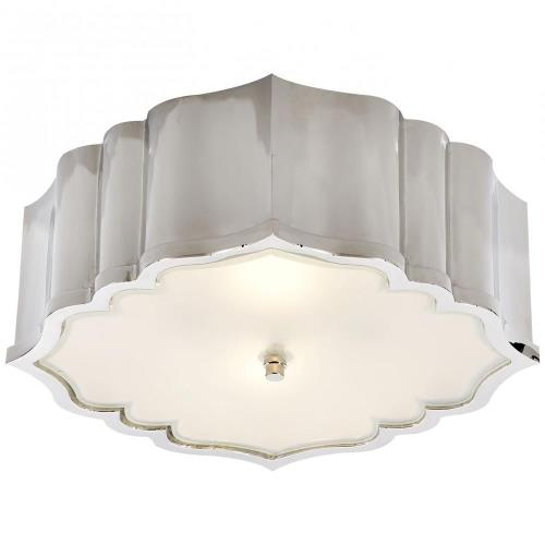 Visual Comfort AH 4025F Balthazar - 3 Light Flush Mount