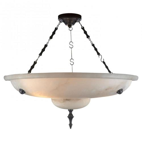 Visual Comfort AH 5000ALB Charles - 3 Light Small Chandelier