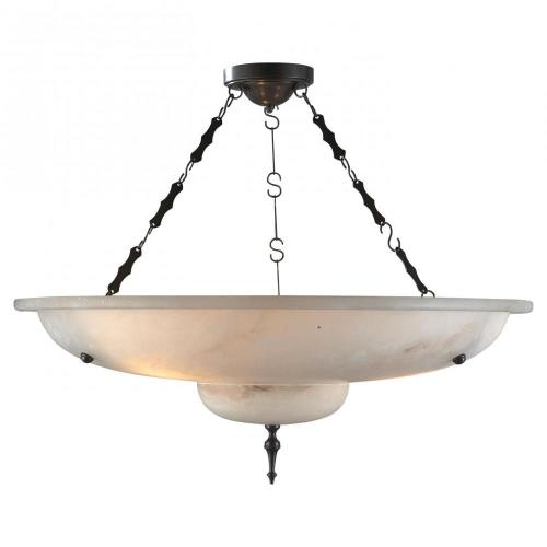 Visual Comfort AH 5002ALB Charles - Three Light Chandelier
