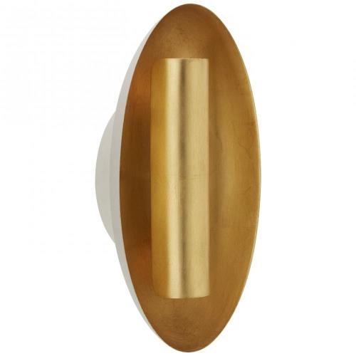 Visual Comfort BBL 212 Aura - 2 Light Medium Oval Wall Sconce