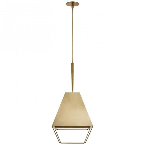 Visual Comfort BBL 5101L Odeum - 2 Light Small Hanging Lantern