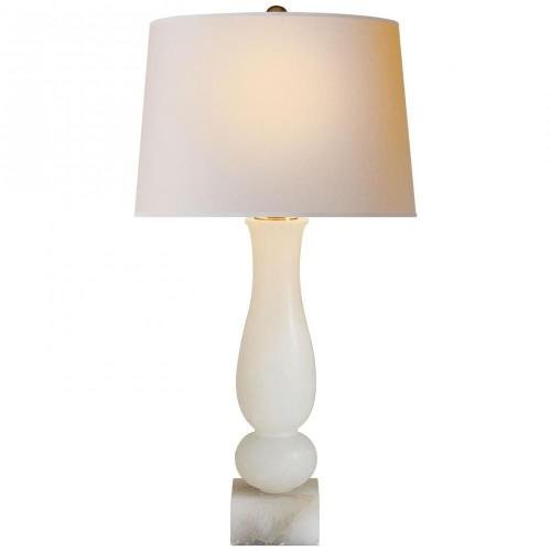 Visual Comfort CHA 8646ALB-NP Contemporary Balustrade - One Light Table Lamp