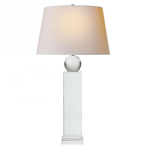 Visual Comfort CHA 8651CG-NP Geometric - 1 Light Tall Table Lamp
