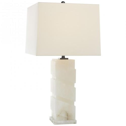 Visual Comfort CHA 8679ALB-L Bias Column - One Light Large Table Lamp