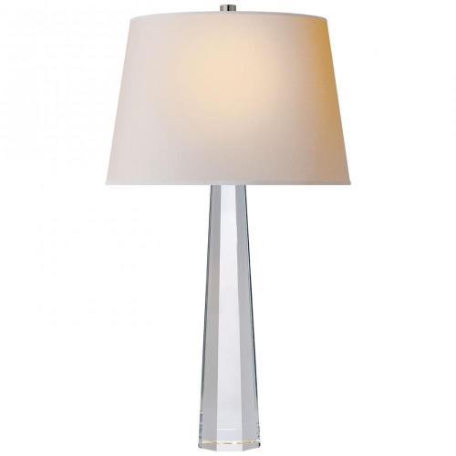 Visual Comfort CHA 8950CG-NP Fluted Spire - 1 Light Medium Table Lamp