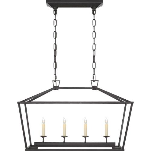 Visual Comfort CHC 2168 Darlana - 4 Light Outdoor Small Linear Hanging Lantern