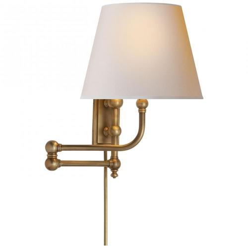 Visual Comfort CHD 2154 Pimlico - 1 Light Swing Arm Wall Sconce