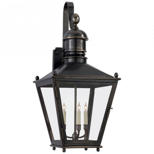 Visual Comfort CHO 2033BZ Sussex - 3 Light Large Wall Bracket Lantern