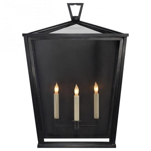 Visual Comfort CHO 2041BZ Darlana - 3 Light Large Wall lantern