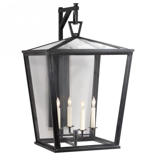 Visual Comfort CHO 2043BZ Darlana - 4 Light Large Wall Bracket Lantern