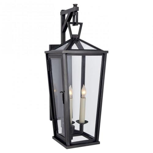 Visual Comfort CHO 2086BZ Darlana - 2 Light Tall Bracketed Wall Lantern