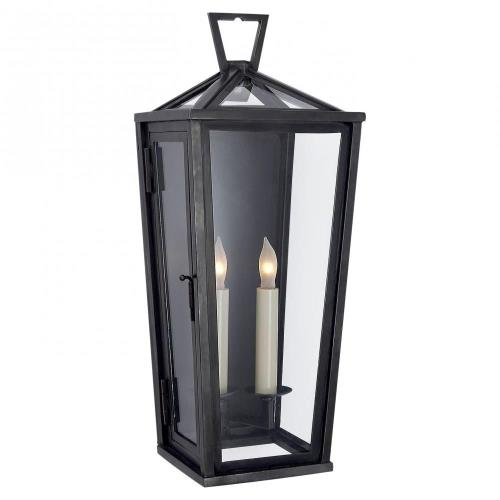 Visual Comfort CHO 2087BZ Darlana - 2 Light Tall Wall Lantern