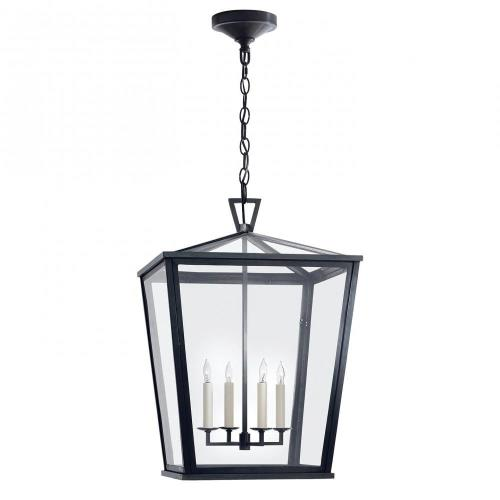 Visual Comfort CHO 5085BZ Darlana - 4 Light Medium Hanging Lantern
