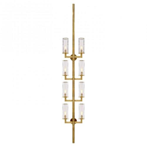 Visual Comfort KW 2204 Liaison - Eight Light Statement Wall Sconce
