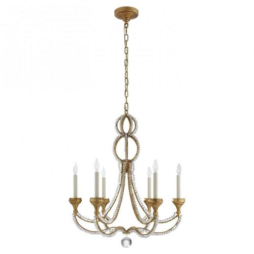 Visual Comfort NW 5030 Milan - 6 Light Medium Chandelier