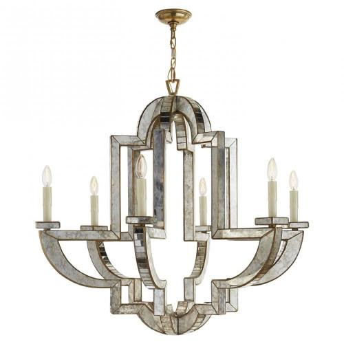 Visual Comfort NW 5041AM/HAB Lido - 6 Light Large Chandelier