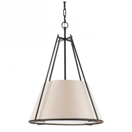 Visual Comfort S 5033BR-NP Aspen - 1 Light Large Shade Conical Pendant
