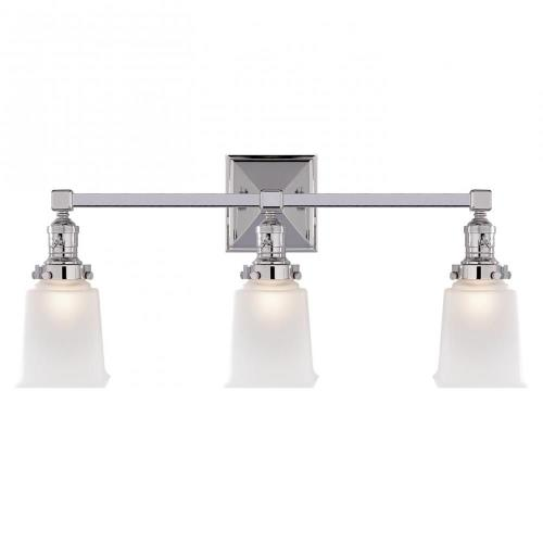 Visual Comfort SL 2943 Boston - 3 Light Square Wall Sconce