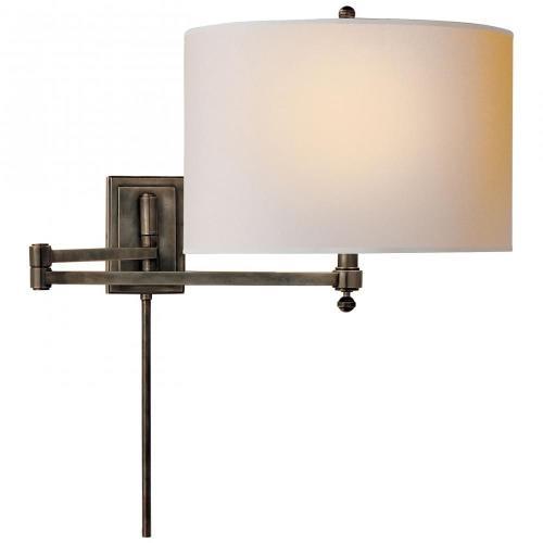 Visual Comfort TOB 2204 Hudson - 1 Light Swing Arm Wall Sconce